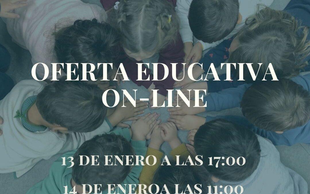 Matrícula abierta del 18 al 29 de Enero para Ed. Infantil, Primaria y Secundaria.